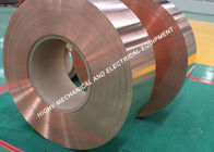 ASTM Soft Roll Tembaga Foil Strip 1,3mm Tebal 8,9g / Cm³ Density